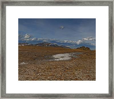 Summit Near Rock Cut Page 4 Of 6 Framed Print by Gregory Scott