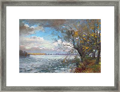 Sun After Storm Framed Print by Ylli Haruni