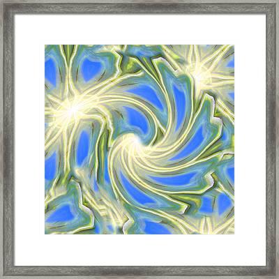 Sun Angels Framed Print