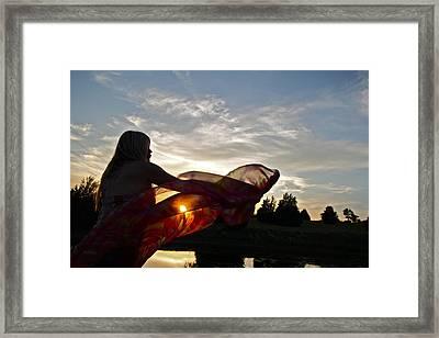 Sun Beauty Framed Print by Snow White