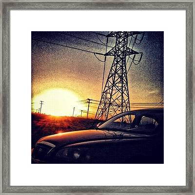 Sun Chasing ~ Corron Xtrillion Framed Print