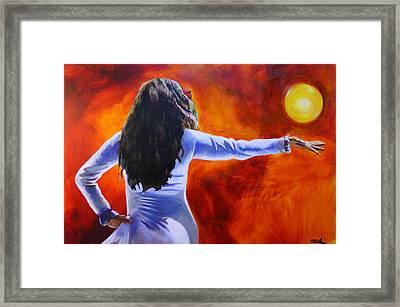 Sun Dancer Framed Print by Jerry Frech