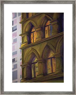 Sun Dappled Framed Print by Duane Gordon