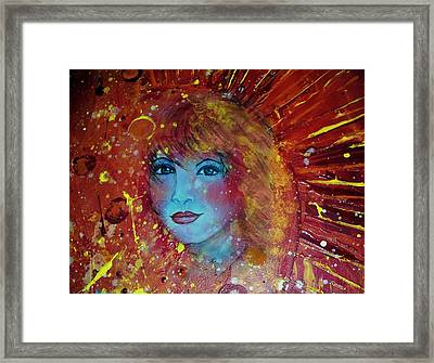 Sun Goddess Framed Print by Robin Monroe