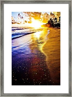 Sun Sand And Symphony Framed Print