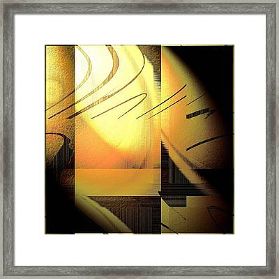 Sun Shade Framed Print