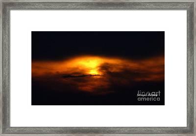 sun Framed Print by Shreyes Rastogi