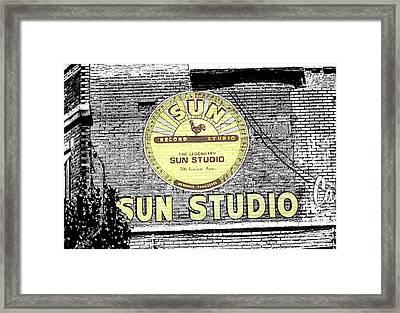 Sun Studios Framed Print
