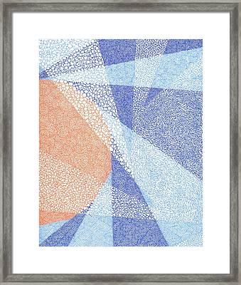 Sun Sun Framed Print