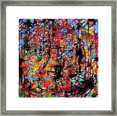 Sun Time Framed Print