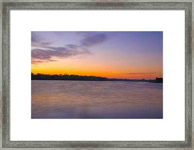 Sun Up Framed Print