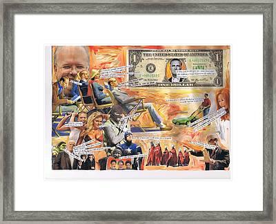 Sun Worshipers Framed Print by Frank Zabohonski