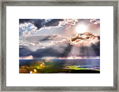 Sunburst 2 Framed Print
