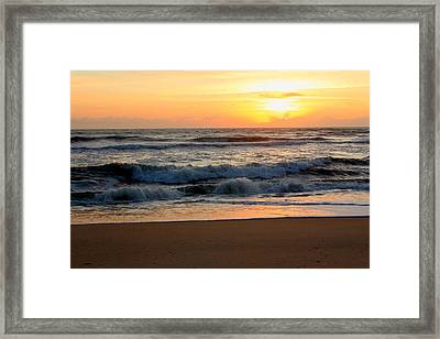 Sunburst Framed Print by Laurinda Bowling