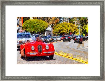 Sunday Drive . 7d15939 Framed Print by Wingsdomain Art and Photography