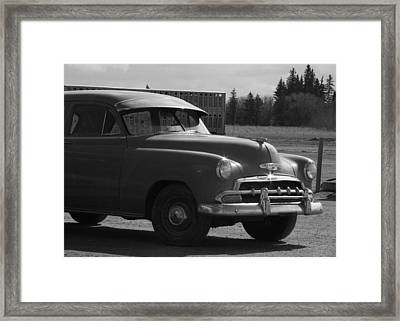 Sunday Drive Framed Print by Ellery Russell