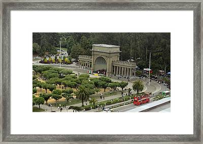 Sunday In The Park Framed Print by Denice Breaux