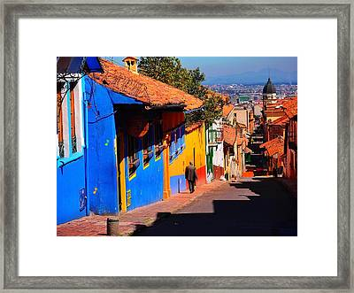 Sunday Safety Framed Print by Skip Hunt