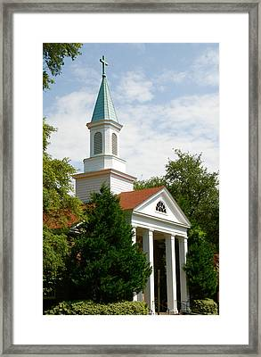 Sunday Worship Framed Print
