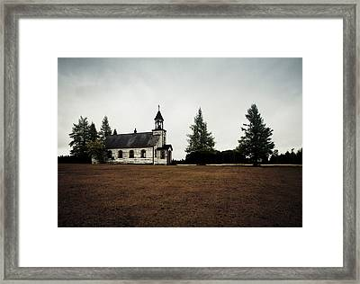 Sundays Past Framed Print