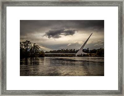 Framed Print featuring the photograph Sundial Bridge - 1 by Randy Wood