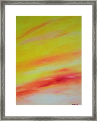 Sundunes Framed Print by Tony Allison