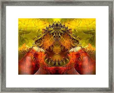 Sunflower Framed Print by Dave Kwinter