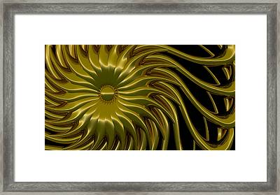 Sunflower Framed Print by Richard Rizzo