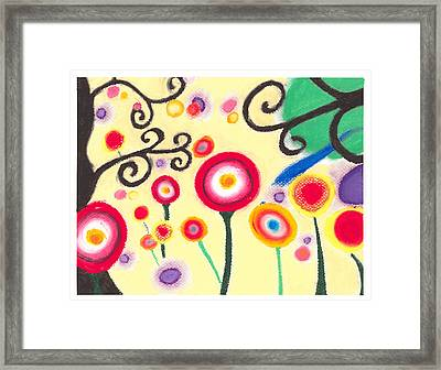 Sunflowers Framed Print by Susanna  M