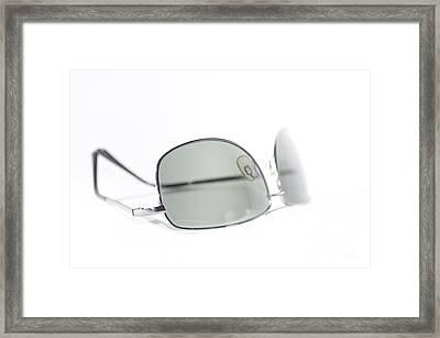 Sunglasses Framed Print