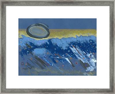 Sunken Moon Framed Print by Ralf Schulze