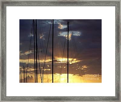 Sunlight - Ile De La Reunion Framed Print by Francoise Leandre
