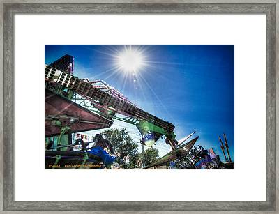 Sunny At The Fair Framed Print by Dan Crosby
