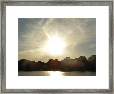 Sunny Beams Framed Print