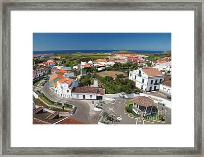 Sunny Day At Ribeirinha Framed Print