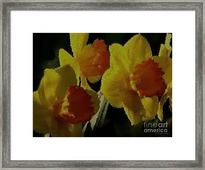 Framed Print featuring the photograph Sunny Days by Roxy Riou
