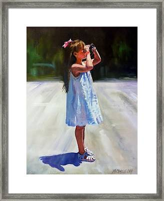 Sunny Outlook Framed Print by Camille Day