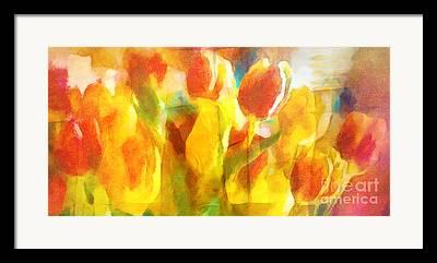 Popart Mixed Media Framed Prints
