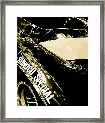 Framed Print featuring the photograph Sunoco Spl by Michael Nowotny
