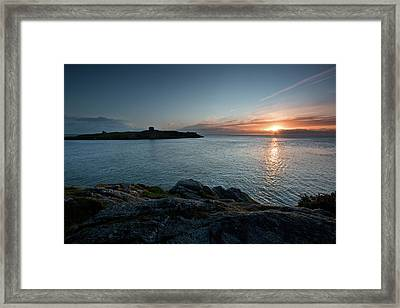 Sunrise At Dalkey Island Framed Print