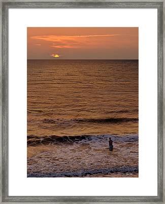 Sunrise At Jacksonville Framed Print
