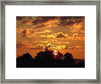 Sunrise At Ravenswood Framed Print