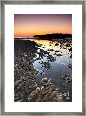 Sunrise At Trow Rocks Framed Print by Ray Pritchard