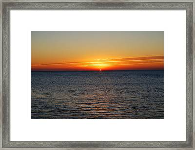 Sunrise Dawning A New Day Framed Print