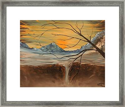 Sunrise End Framed Print by Shadrach Ensor