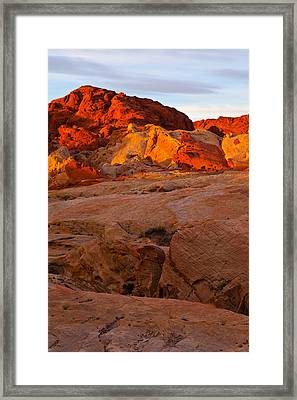 Sunrise Ignition Framed Print by James Marvin Phelps
