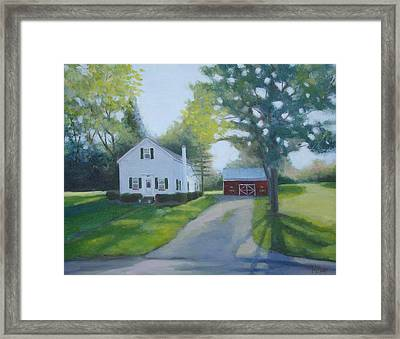 Sunrise In Argyle Framed Print by Mark Haley