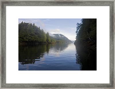 Sunrise In Haida Gwaii Framed Print by Taylor S. Kennedy