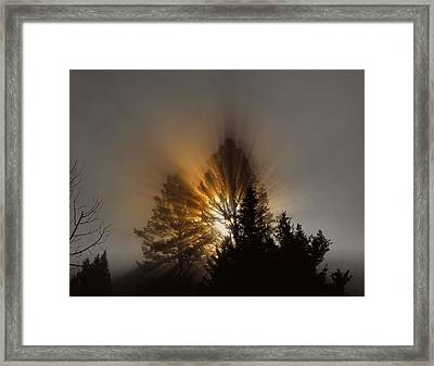 Framed Print featuring the photograph Sunrise by Irina Hays