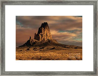 Sunrise On El Capitan Framed Print by Sandra Bronstein